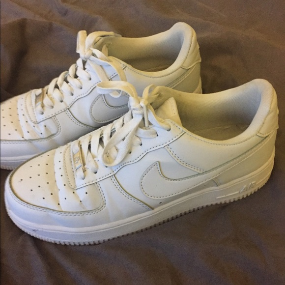 Nike Shoes Air Force 1 All White Us 85 Womens 7 Mens Poshmark